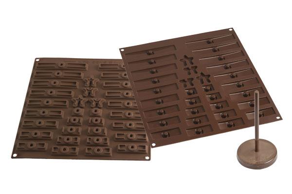 Billede af 3D chokolade Juletræ