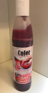 Billede af Kakaosmør farve 200 ml - Kirsebær rød