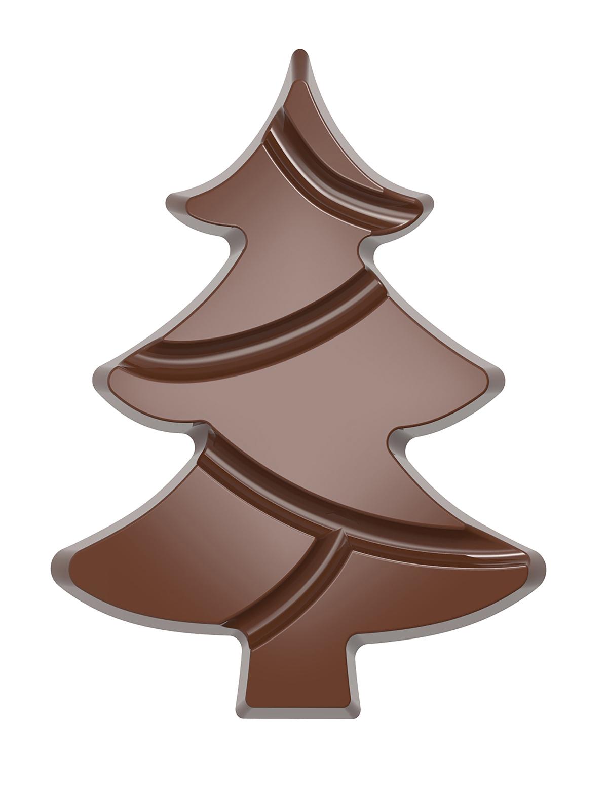 Billede af Chocolate World chokoladeform CW12008 Christmas tree / Juletræ