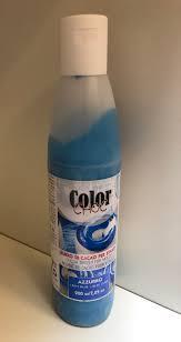 Billede af Kakaosmør farve 200 ml - Azur blå