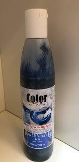Billede af Kakaosmør farve 200 ml - Mørke blå